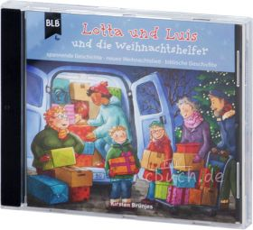 Kirsten Brünjes: Lotta und Luis und die Weihnachtshelfer  (Audio-Hörspiel)
