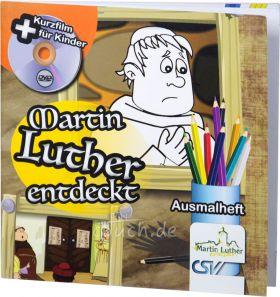 Martin Luther entdeckt - Heft+DVD