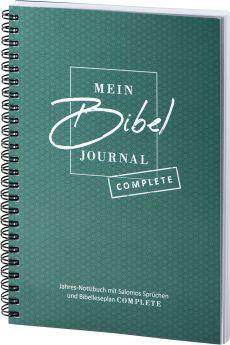 Mein BibelJournal - Complete Jahres-Notizbuch mit Salomos Sprüchen und Bibelleseplan Complete