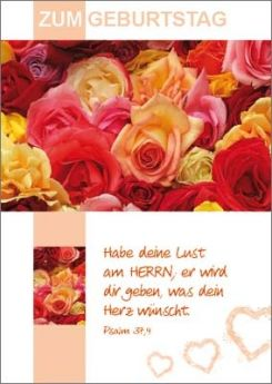 12 Minikarten bunte Rosen - Boalanz