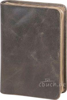 """Bibelhülle """"Texas im Used-Look"""" für die Induktive Studienbibel"""