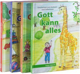 Habicht: Gott kann alles - Buchreihe im Set (4 Bücher)