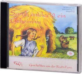 Sarah entdeckt ein Geheimnis (4) - Hörspiel CD