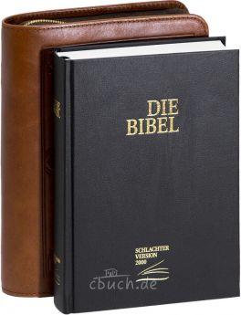Schlachter 2000 Taschenausgabe mit Bibelhülle Wittenberg