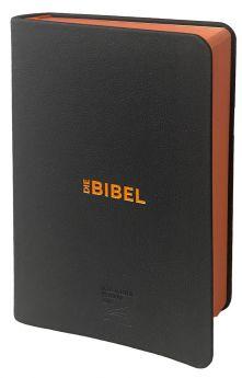Schlachter 2000 Bibel - Leder-Einband, Farbschnitt