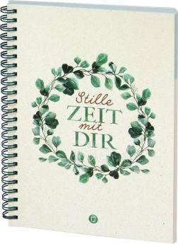 """Stille Zeit mit Dir - Notizbuch Motiv """"Eukalyptus"""""""