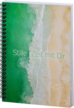 """Stille Zeit mit Dir - Notizbuch - Motiv """"Strand"""""""