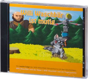 Willi Waschbär ist mutig (Audio-CD 2)