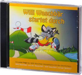 Willi Waschbär startet durch (Audio-CD 1)