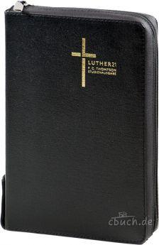 Luther21 - F.C. Thompson Studienausgabe - Standard - Lederfaserstoff Schwarz