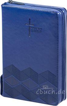 Luther21 - F.C. Thompson Studienausgabe - Kunstleder PU dunkelblau