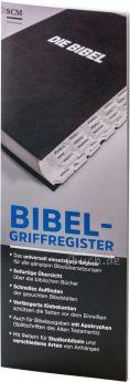 Bibel-Griffregister schwarz inkl. Apokryphen und Anhang für Studienbibeln