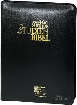MacArthur Studienbibel - Leder / Reißverschluss