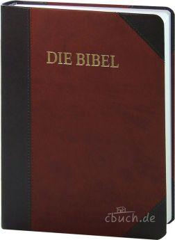Schlachter 2000 Bibel - Großdruckausgabe Duotone