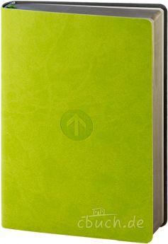 Schlachter 2000 Taschenbibel  PU-Einband grün