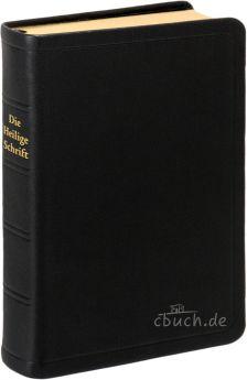 Elberfelder Bibel Edition CSV - große Taschenbibel, Leder, Goldschnitt