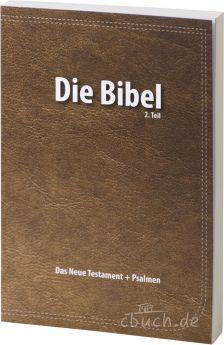Elberfelder Bibel – Das Neue Testament mit Psalmen - Verteilbibel