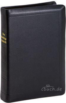 Elberfelder Bibel Edition CSV - gr. Taschenbibel, Leder, Goldschnitt, Schutzklappen