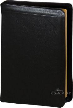 Elberfelder Bibel Edition CSV - kl. Taschenausgabe Leder/Schutzklappen