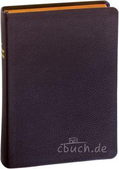 Elberfelder Bibel Edition CSV - Schreibrandbibel, Ziegenleder braun