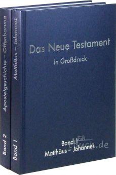 Elberfelder Bibel Edition CSV - Neues Testament in Großdruck (2 Bände)