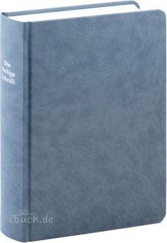 Elberfelder Bibel Edition CSV - Schreibrandbibel kleinere Ausgabe, Hardcover, graublau