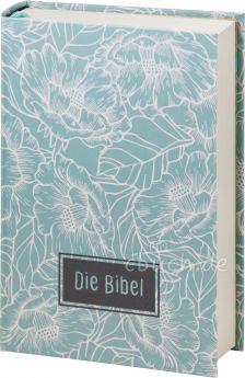 Elberfelder Bibel Edition CSV - Taschenbibel, größere Ausgabe, Motiv Blumen
