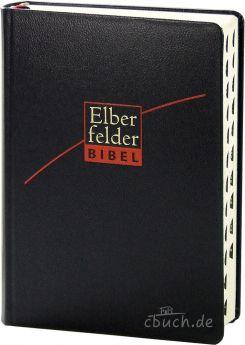 Revidierte Elberfelder Bibel - mit Schreibrand und Griffregister Leder