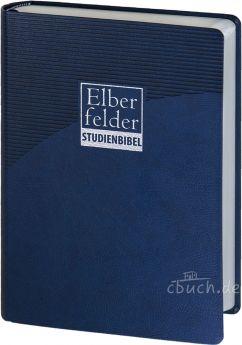 Revidierte Elberfelder Studienbibel, Kunstleder, mit Sprachschlüssel und Handkonkordanz