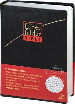 Revidierte Elberfelder Bibel in großer Schrift - Leder