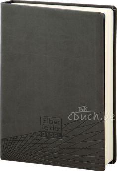 Revidierte Elberfelder Bibel - Standardausgabe, ital. Kunstleder grau