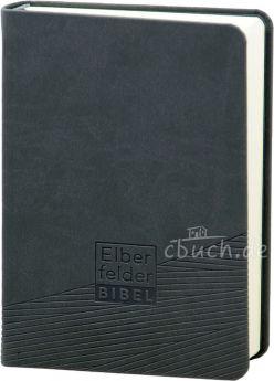 Revidierte Elberfelder Bibel - Taschenausgabe, Kunstleder grau