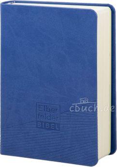 Revidierte Elberfelder Bibel - Taschenausgabe, Kunstleder blau