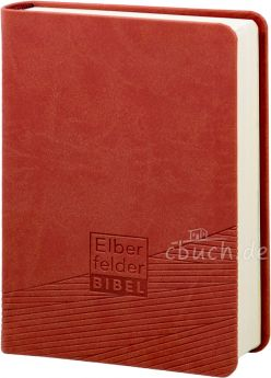 Revidierte Elberfelder Bibel - Taschenausgabe, Kunstleder rot