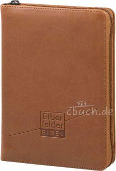 Revidierte Elberfelder Bibel - Taschenausgabe, ital. Kunstleder mit Reißverschluss