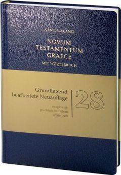 Novum Testamentum Graece (Nestle-Aland) mit griechisch-deutschem Wörterbuch