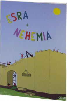 Esra und Nehemia: Ein Malbuch und Lesebuch mit Bastelbogen