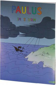 Paulus im Sturm - Ein Malbuch und Lesebuch mit Bastelbogen