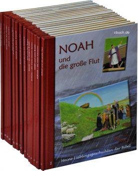 Meine Lieblingsgeschichten der Bibel - Paket mit 18 Bänden
