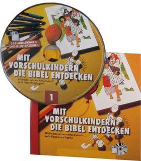 Mit Vorschulkindern die Bibel entdecken, Band 1 (CD-ROM)