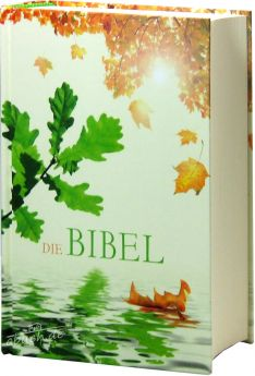 """Bibel Schlachter 2000 Taschenausgabe """"Eichenblatt"""""""