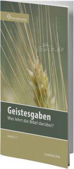 Gassmann: Geistesgaben (Reihe Orientierung 11)