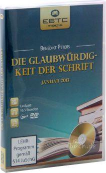 Peters: Die Glaubwürdigkeit der Schrift (DVD + MP3-Vortrag)