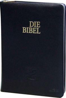 Schlachter 2000 Bibel Taschenausgabe - echt Leder