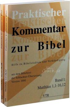 Praktischer Kommentar zur Bibel, Band 1 & 2: Matthäus (Paket)