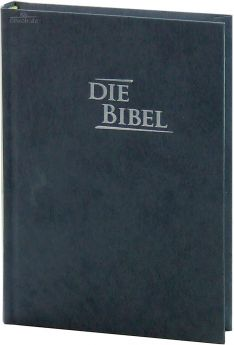 Elberfelder Bibel Edition CSV - Pocket Baladek, grau-blau