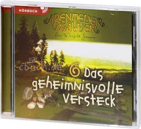 Johnson: Das geheimnisvolle Versteck - Die Abenteuerwälder 6 (MP3-Hörbuch)