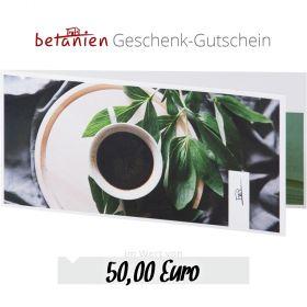 Betanien Geschenk-Gutschein im Wert von 50 Euro (Karte)