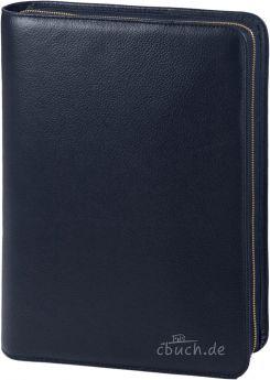 Bibelhülle (blau) für Schlachter Standard