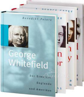 Buchpaket Biographien (CLV) - St. John, Carey, Taylor, Whitefield